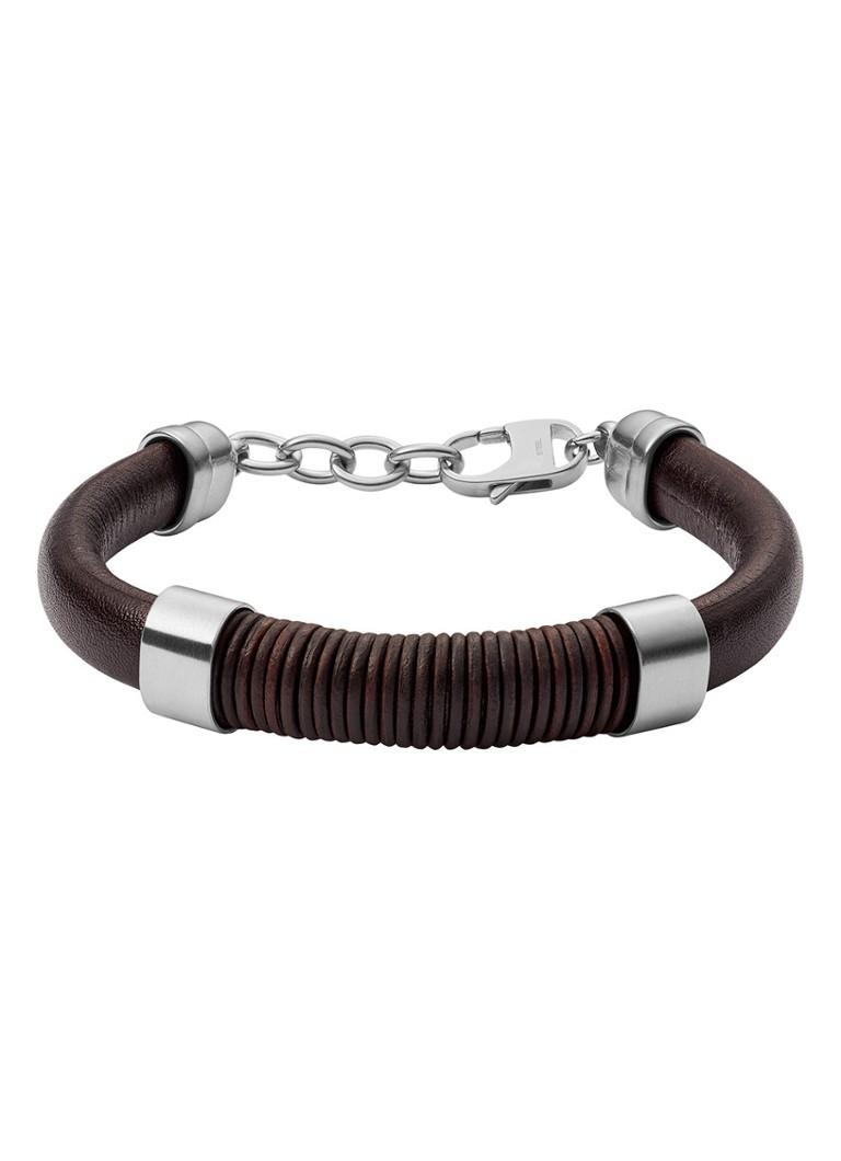 c554e4721c4 Fossil Vintage Casual armband van roestvrij staal • de Bijenkorf