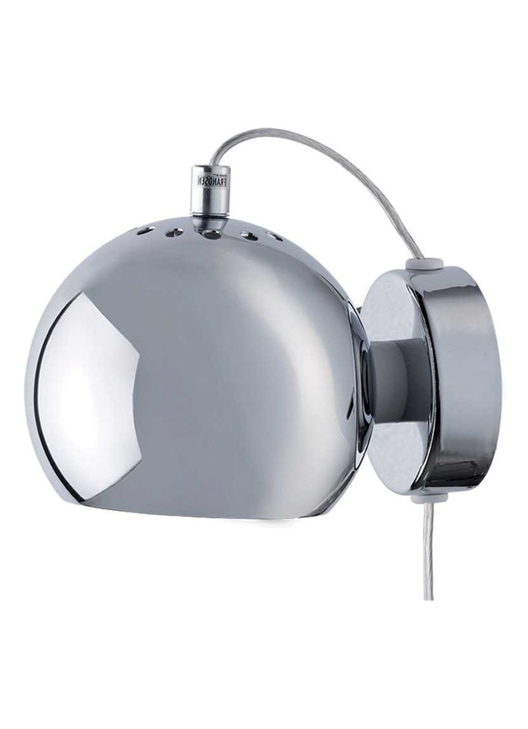 Frandsen - Ball wandlamp Metallic - Chroom