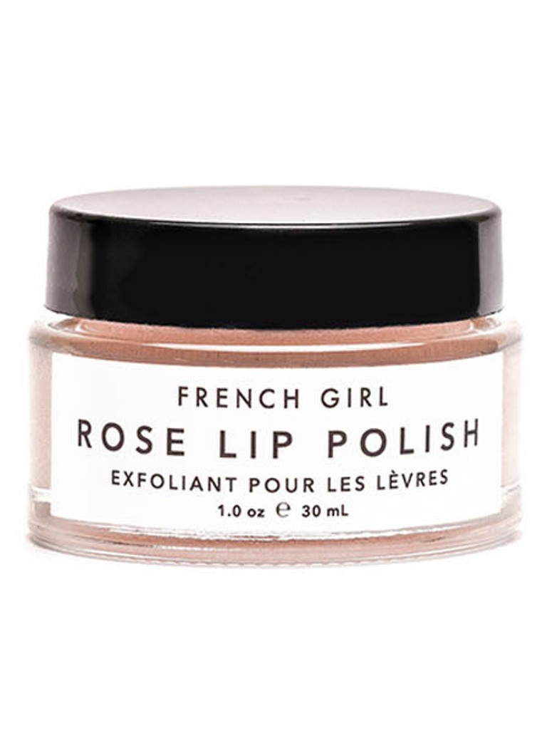 French Girl - Rose Lip Polish - lipscrub -