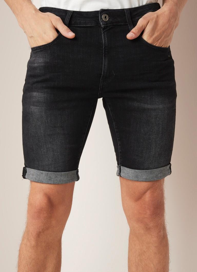 ac1c7df5238 G-Star RAW Elto skinny fit korte broek van denim met stretch • de Bijenkorf