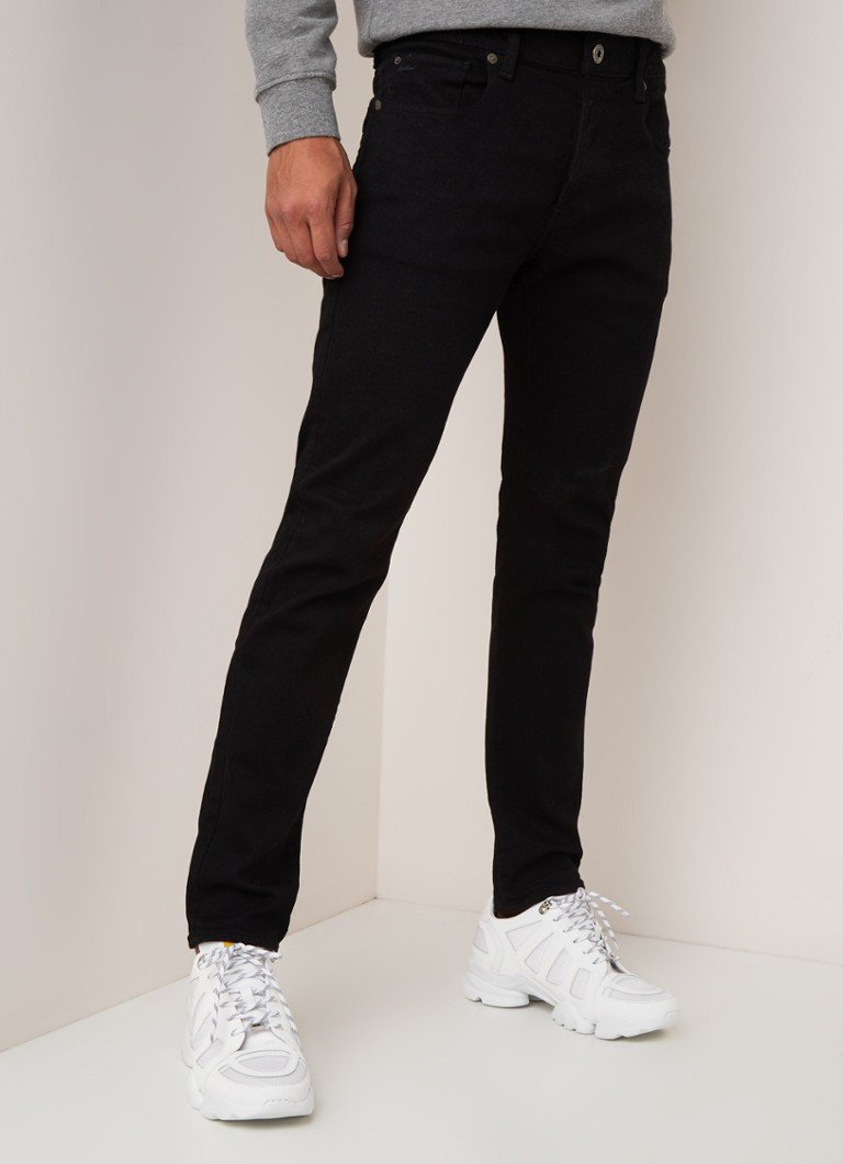 G-Star RAW - Elto slim fit jeans met stretch - Zwart