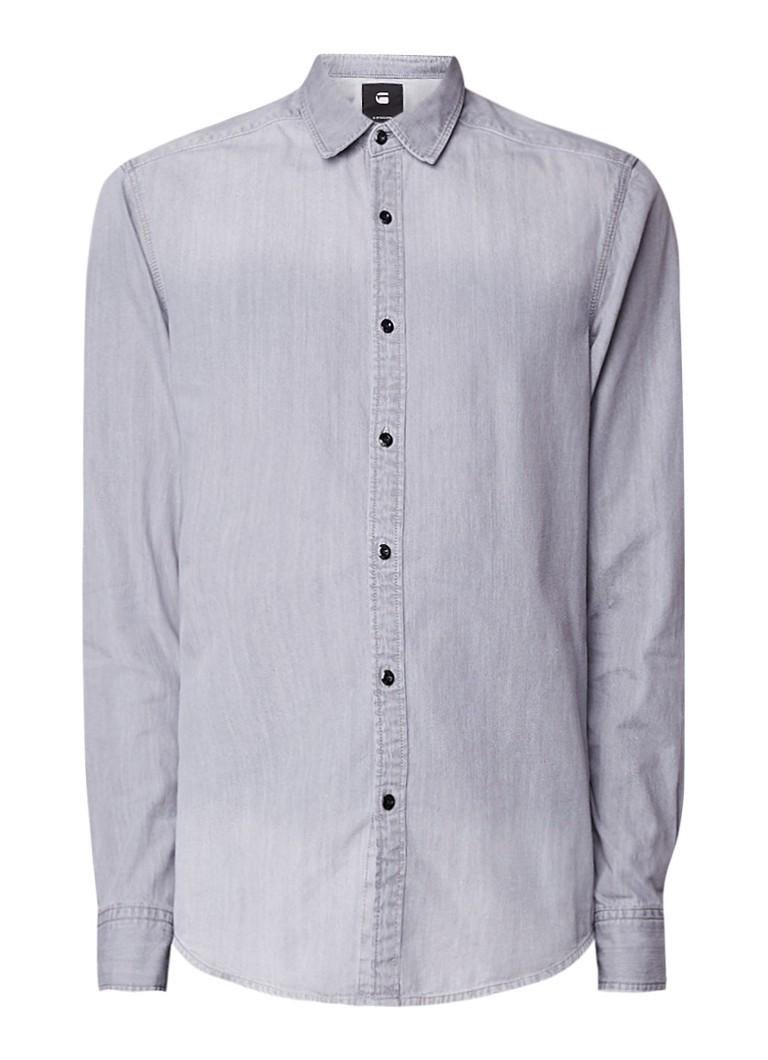 Slim Fit Denim Overhemd.G Star Raw Landoh Slim Fit Denim Overhemd De Bijenkorf