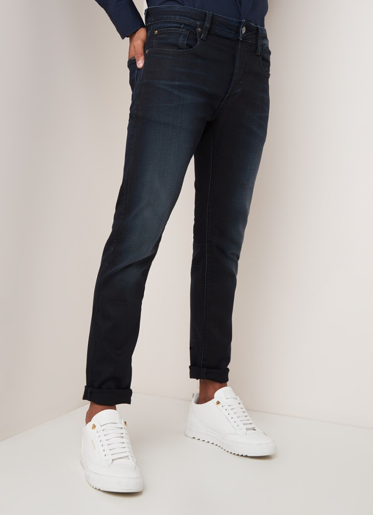 G-Star RAW - Slander slim fit jeans met stretch - Indigo