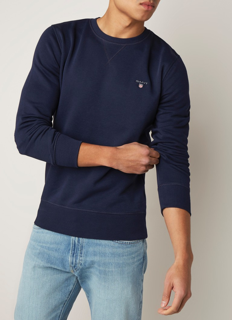 3e64215bcf5 Gant Sweater met ronde hals • de Bijenkorf