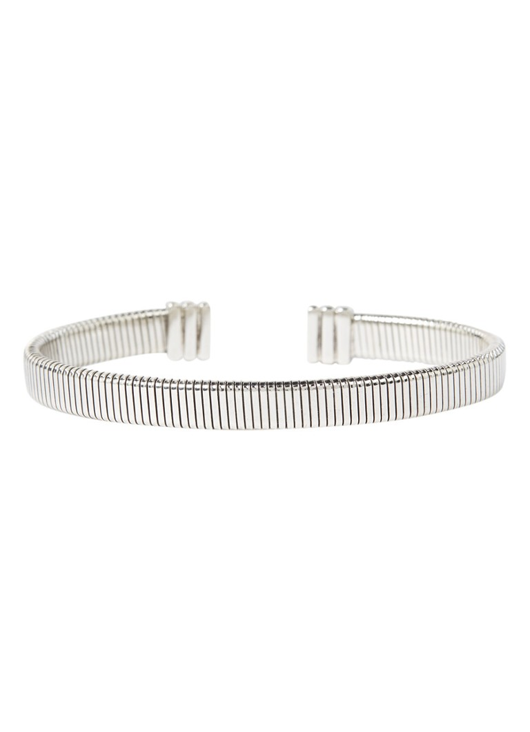 Gas Bijoux - Milo bangle verguld - Zilver