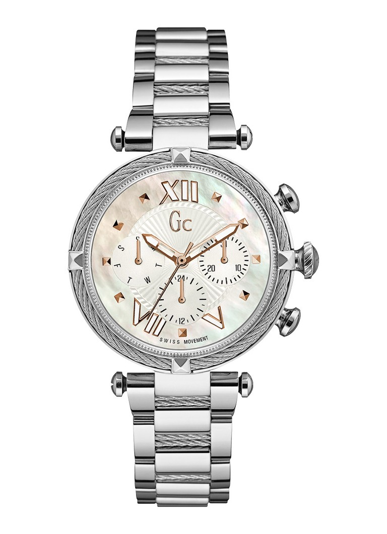 Gc Watches - Gc CableChic horloge horloge Y16001L1MF - Zilver