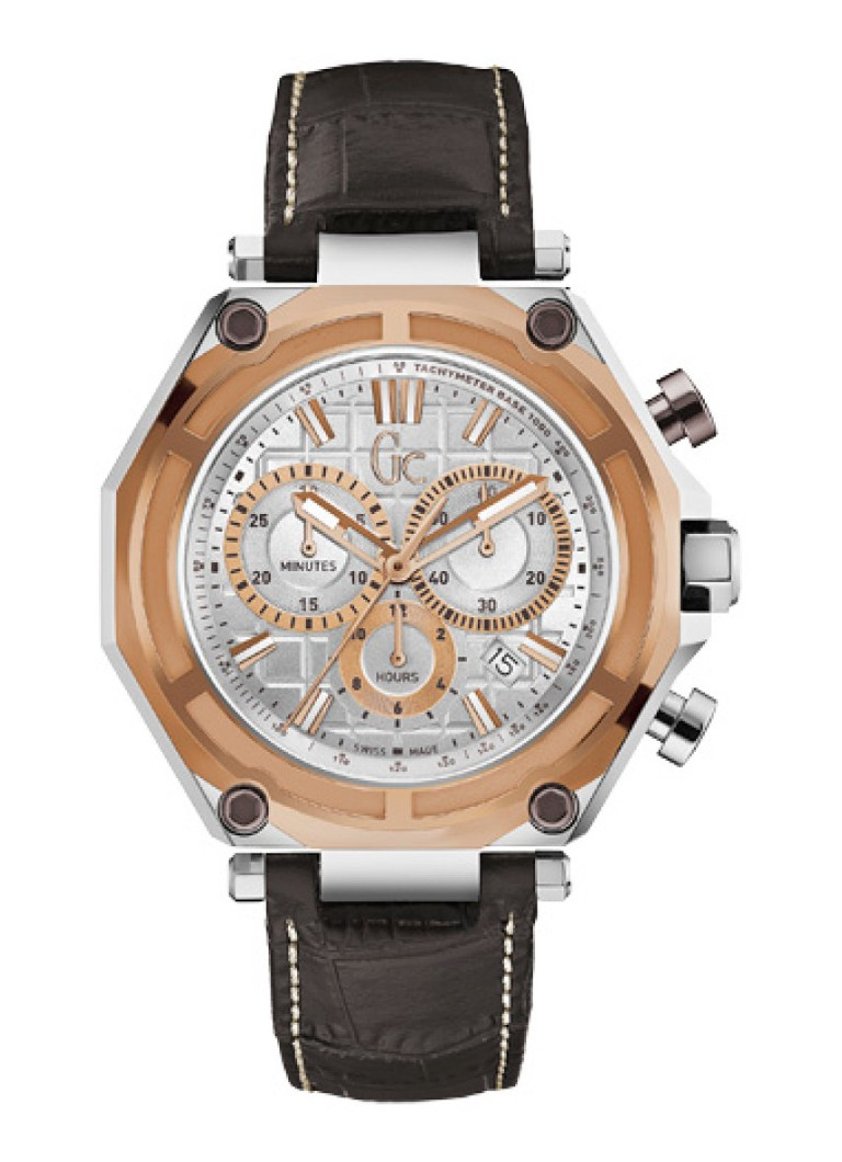 Gc Watches - Horloge Gc-3 Sport X10001G1S - Zilver