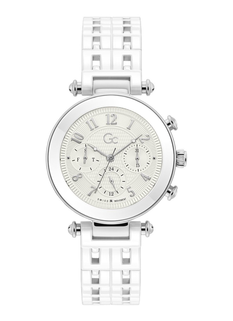 Gc Watches - Prime Chic horloge Y65004L1MF - Wit