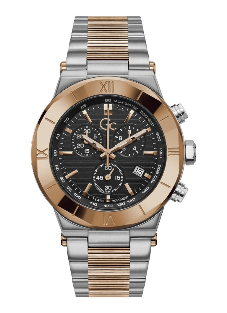 Gc Watches - Sport Chic horloge Y69003G2MF - Zilver