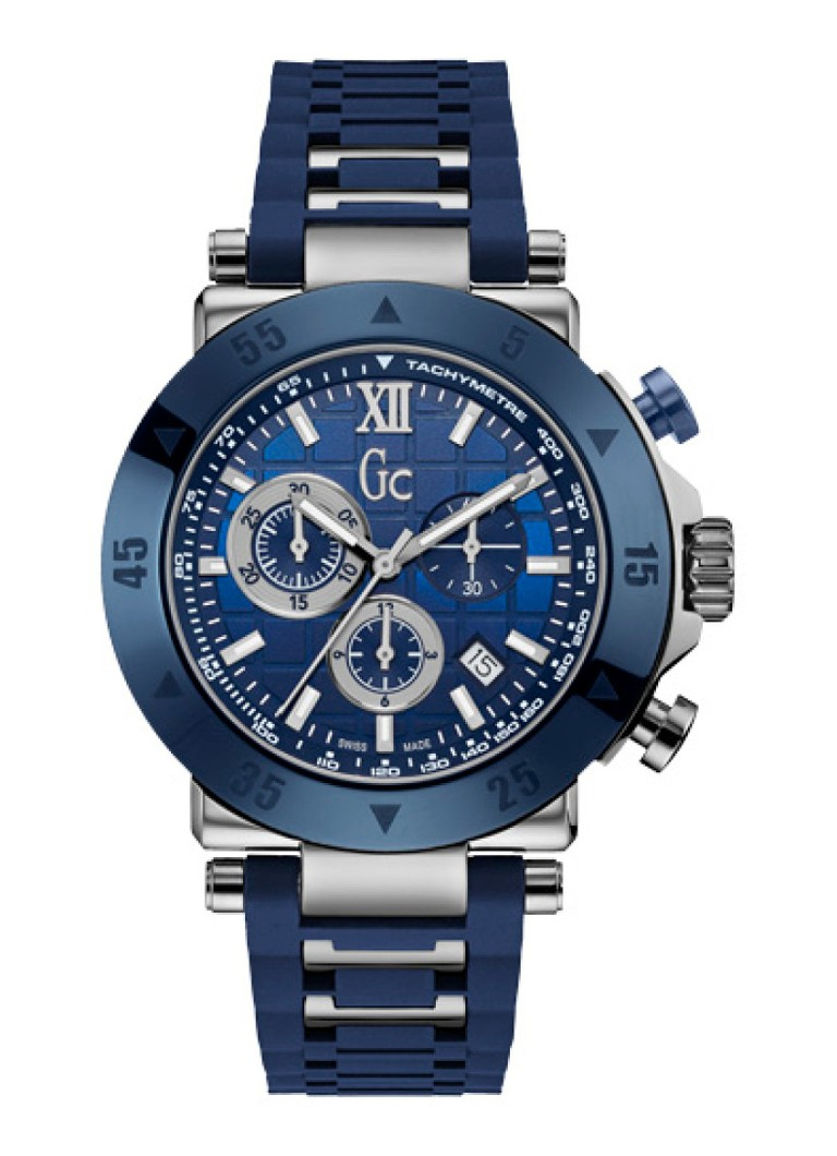 Gc Watches - SportChic horloge X90025G7S - Blauw