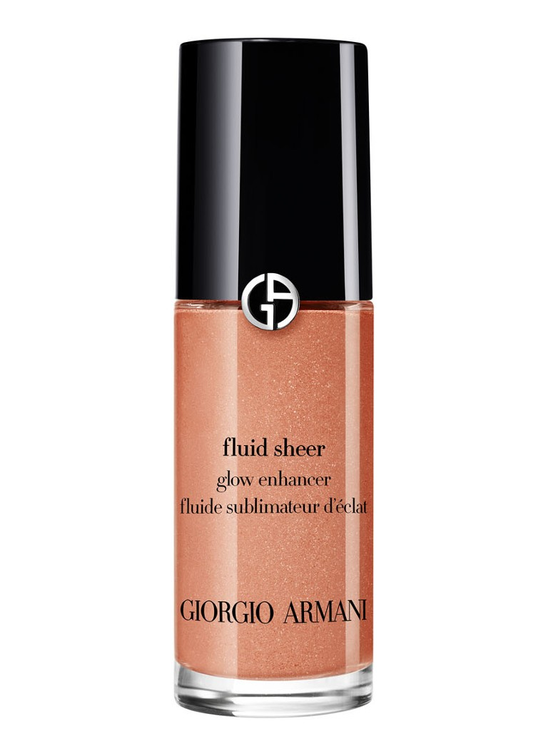 Giorgio Armani Beauty - Fluid Sheer Glow Enhancer - mini vloeibare highlighter - 11