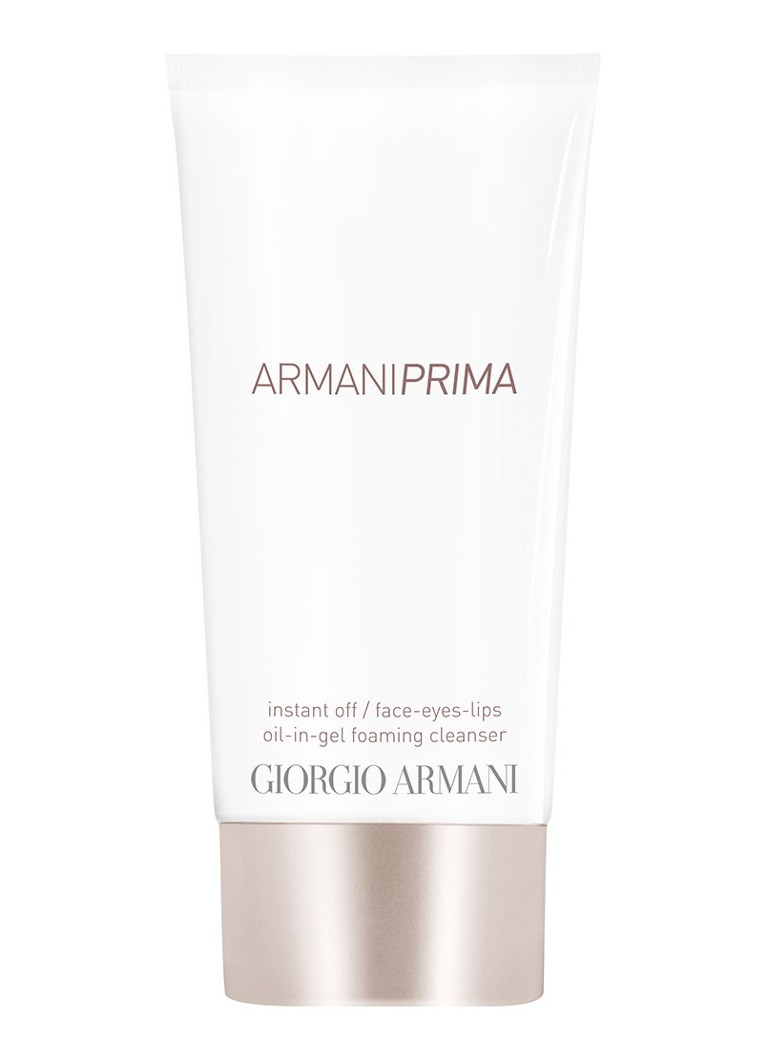 Giorgio Armani Beauty - Prima Instant Off / Face-Eyes-Lips Oil-in-gel Foaming Cleanser - null
