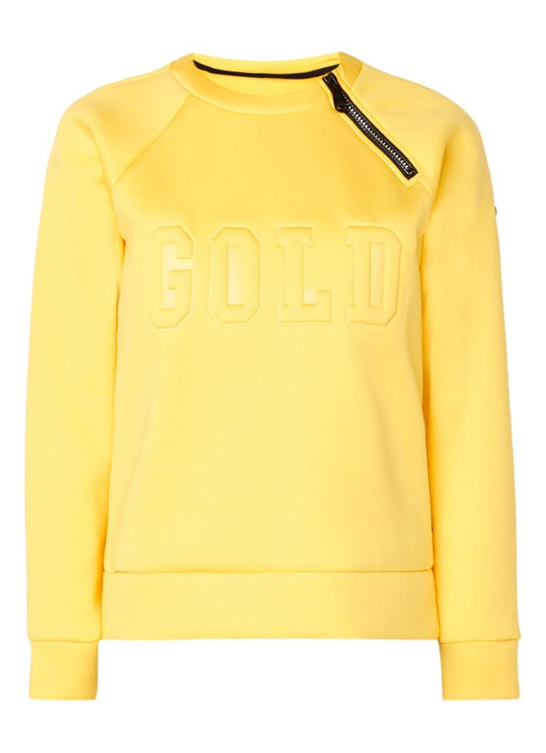 Goldbergh Clemence sweater van neopreen • de Bijenkorf