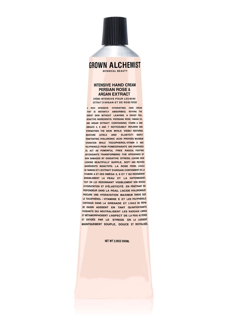 Grown Alchemist - Persian Rose & Argan Extract Intensive Hand Cream - handcrème - null