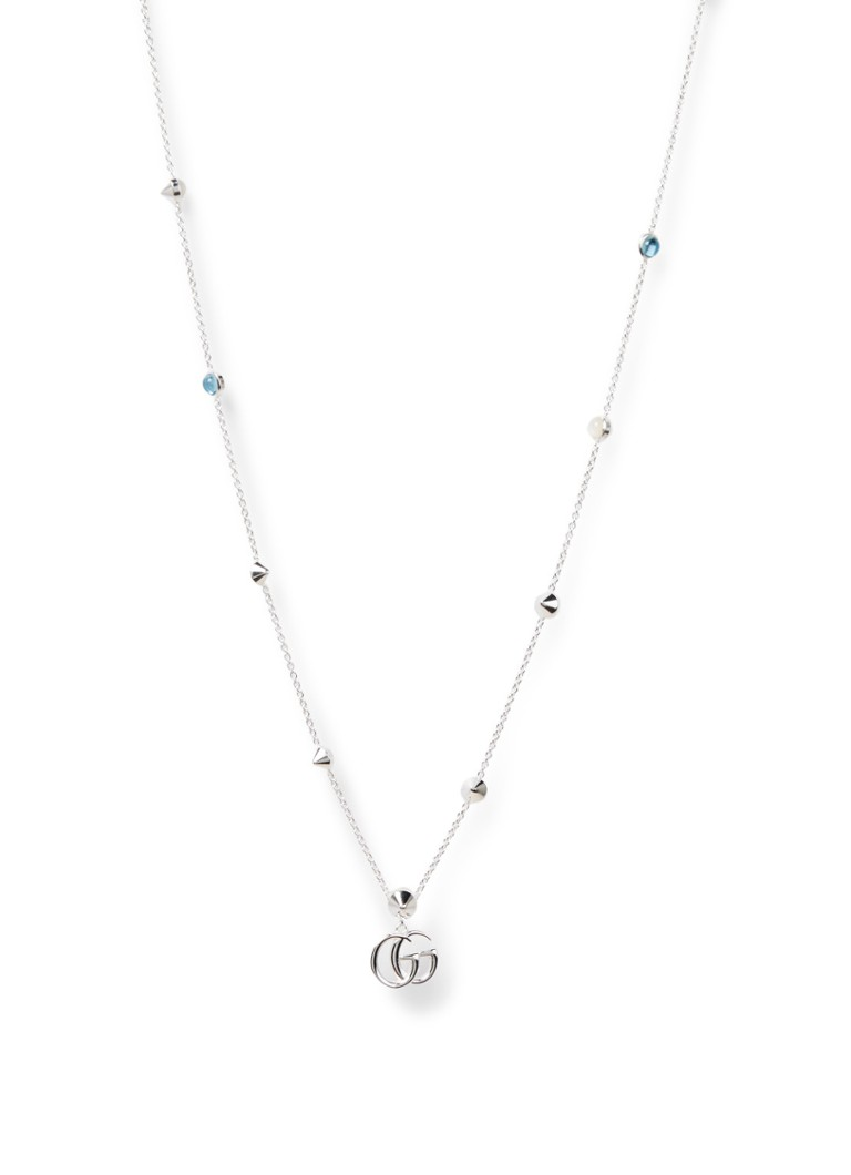 Gucci - Double G ketting van sterling zilver YBB527399001 - Zilver