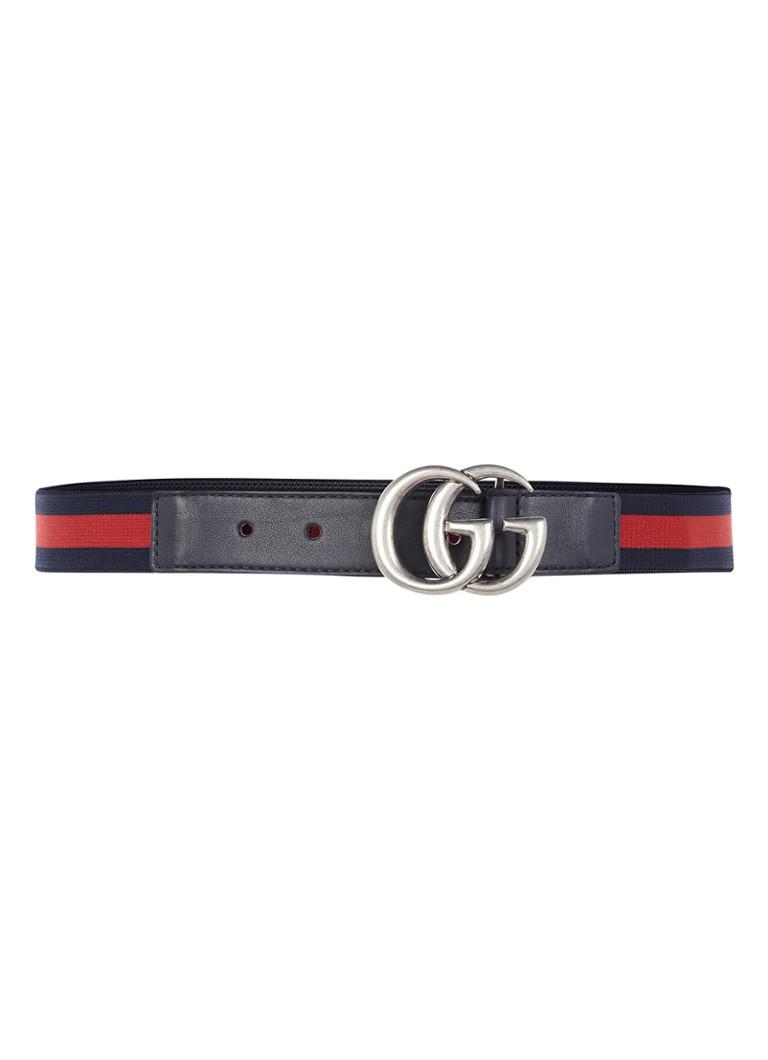 Gucci Elastische riem met logogesp u2022 de Bijenkorf