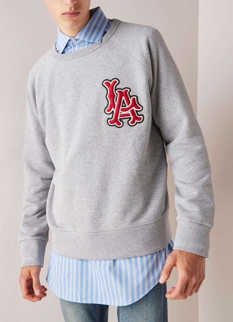 4fd099f157795 Gucci LA Angels sweater met logo patch • de Bijenkorf