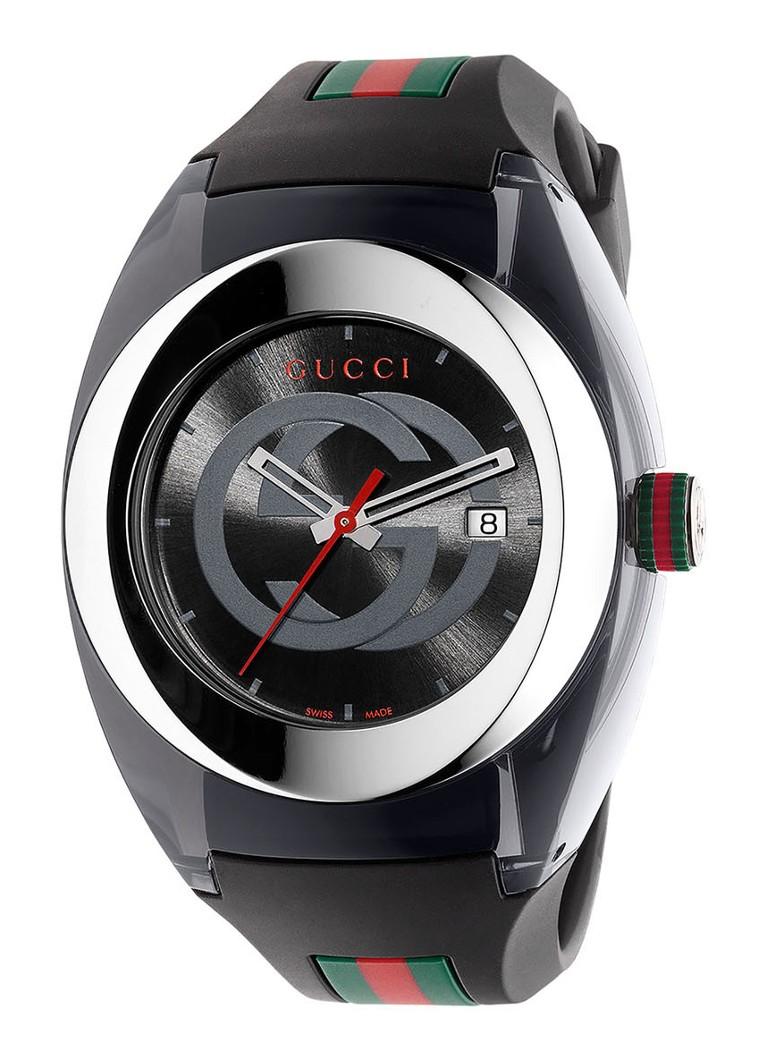 Gucci SYNC Horloge XXL YA137101 • de Bijenkorf