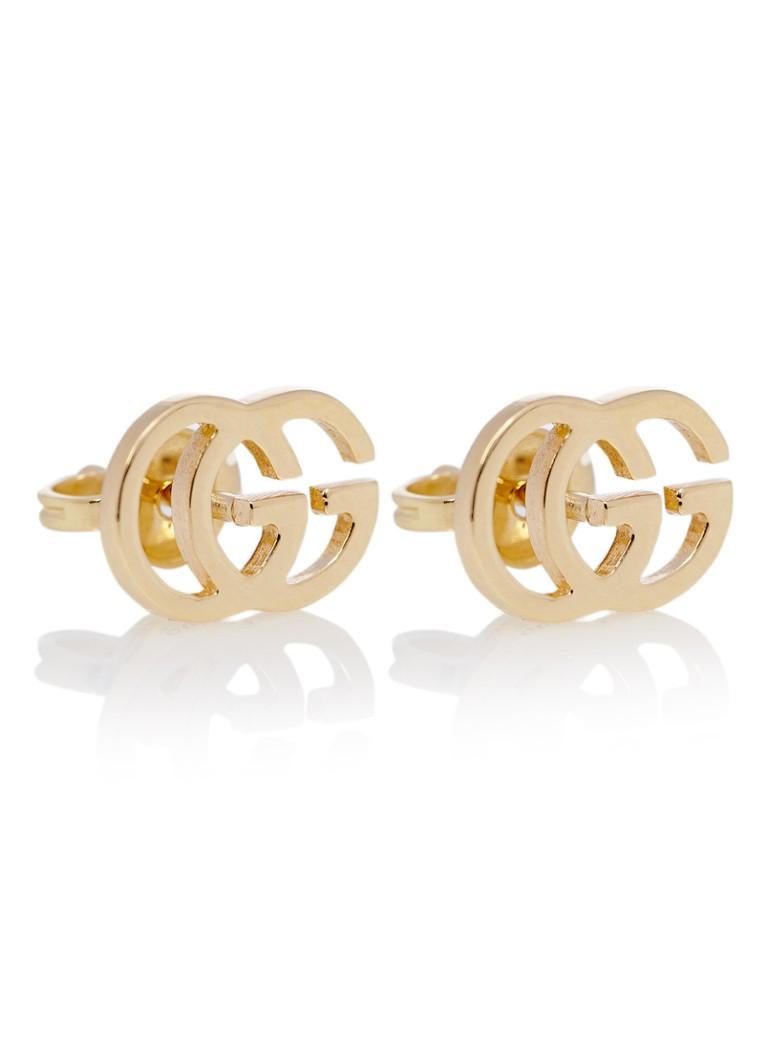 303a283f64a Gucci Tissue GG oorstekers van 18k goud YBD094074002 • de Bijenkorf