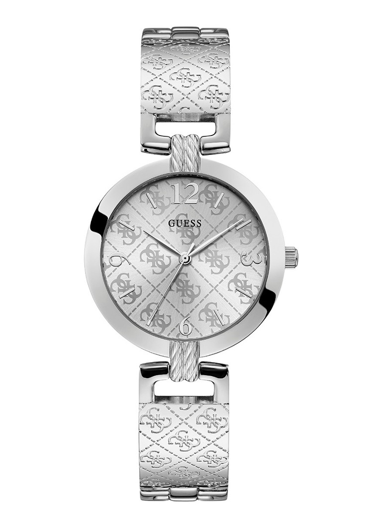 GUESS - G Luxe horloge W1228L1  - Zilver