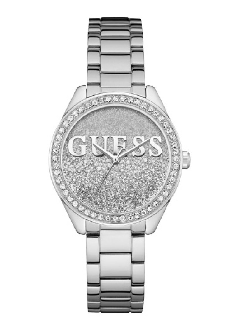 GUESS - Glitter Girl Trend horloge W0987L1 - Zilver