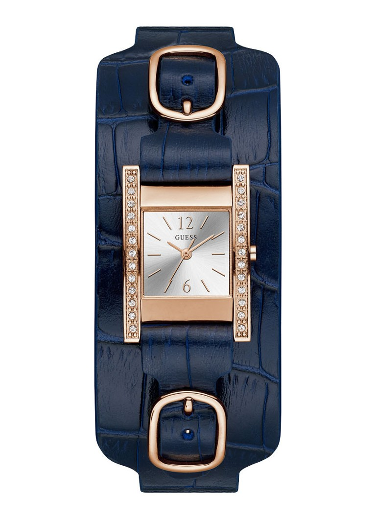 GUESS - GUESS Buckle Up horloge W1136L4 - Yes