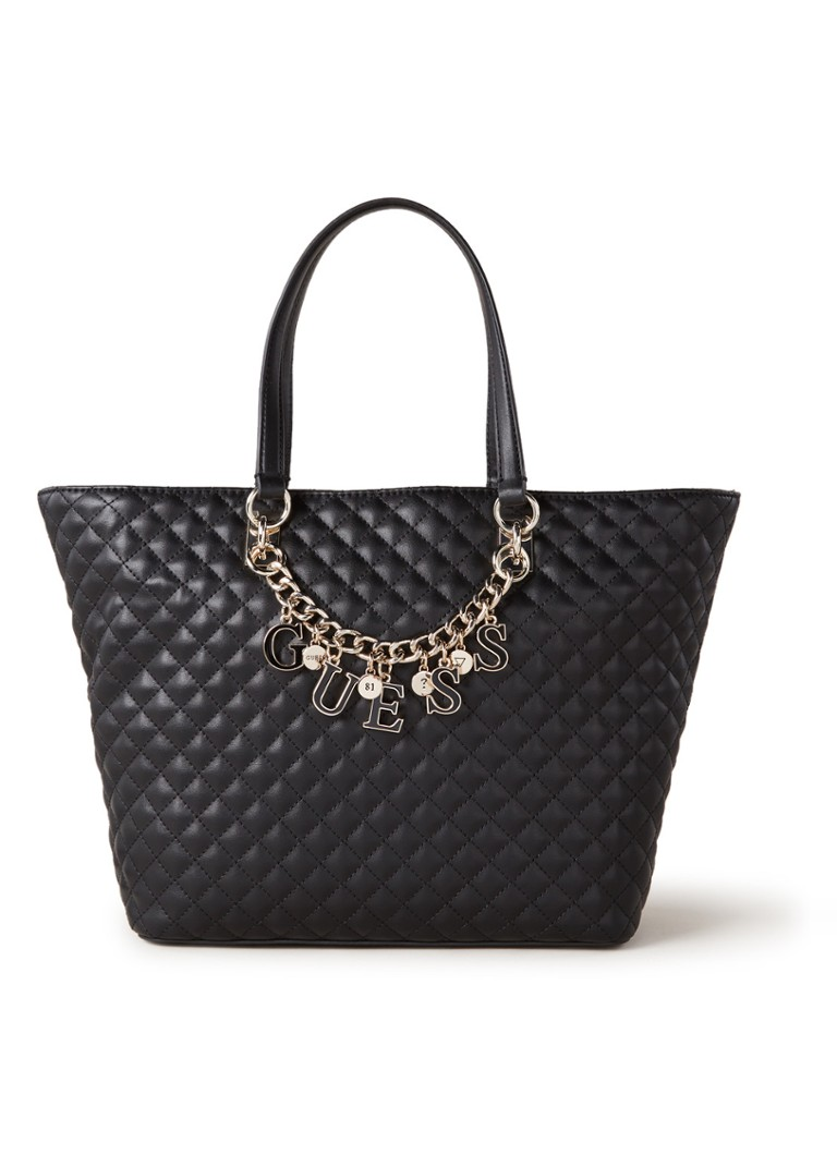 GUESS - Passion shopper met logo  - Zwart
