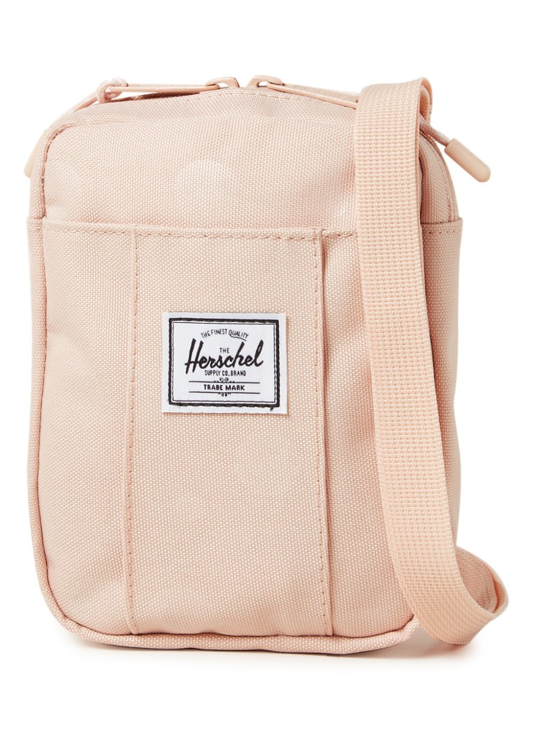 Herschel Supply - Cruz crossbodytas met logopatch - Lichtroze