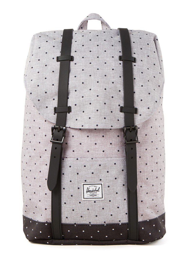 Herschel Supply - Retreat M rugzak met 13 inch laptopvak - unisex - Grijs