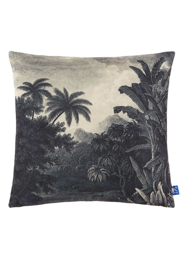 HKliving - Jungle sierkussen 45 x 45 cm - Beige