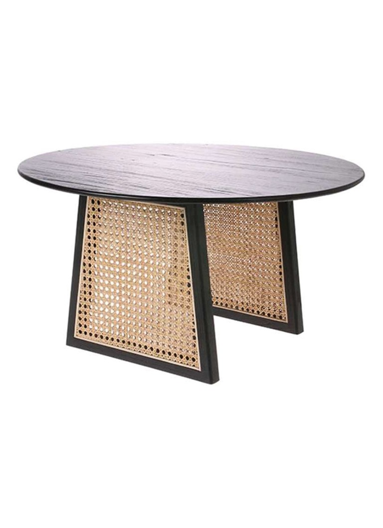 HKliving - Webbing salontafel medium - Zwart