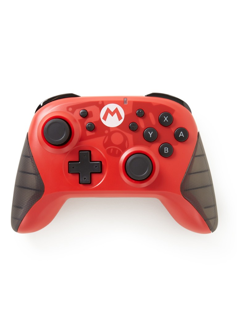 Hori - Hori Wireless Controller - Mario - Nintendo Switch - null