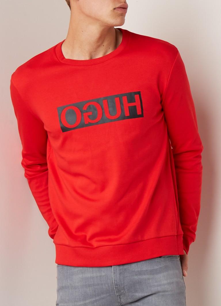 women coupon code the best attitude HUGO BOSS Dicago sweater met logoprint • de Bijenkorf