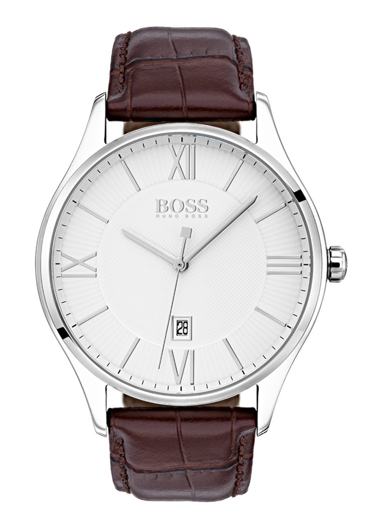 HUGO BOSS - Governor  horloge HB1513555 - Zilver
