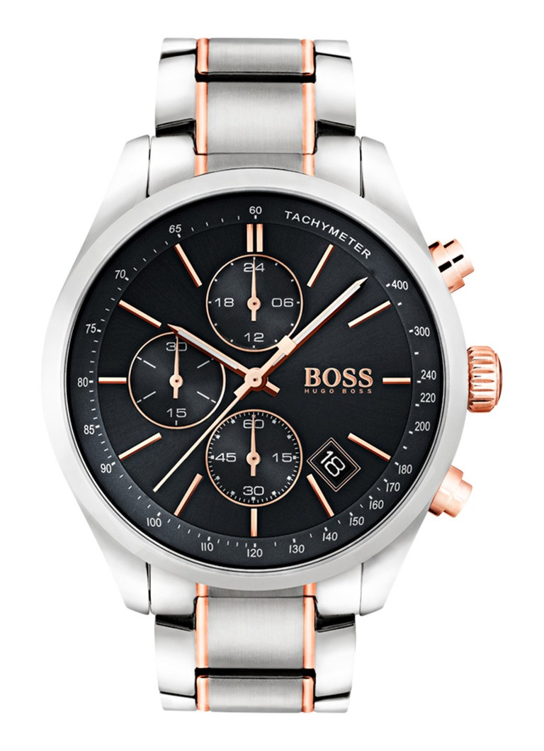 Hugo boss horloge grand prix hb1513473 de bijenkorf for Prix horloge