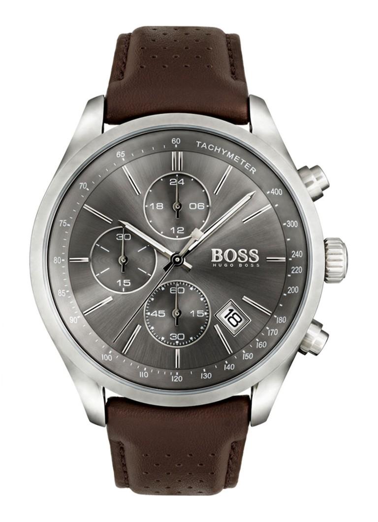 Hugo boss horloge grand prix hb1513476 de bijenkorf for Prix horloge