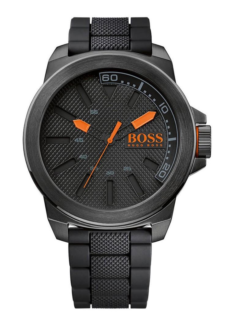 hugo boss horloge new york ho1513004 de bijenkorf. Black Bedroom Furniture Sets. Home Design Ideas