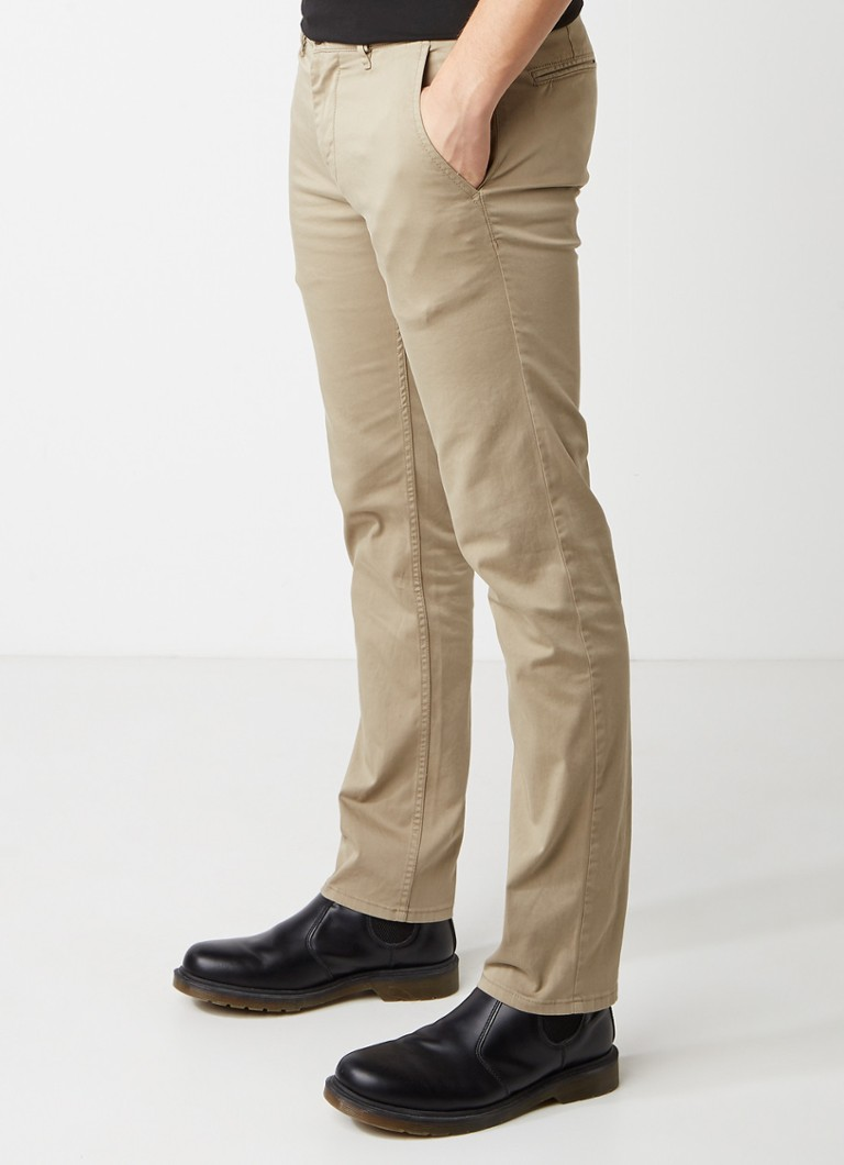 HUGO BOSS - Schino-Slim D slim fit chino - Zand