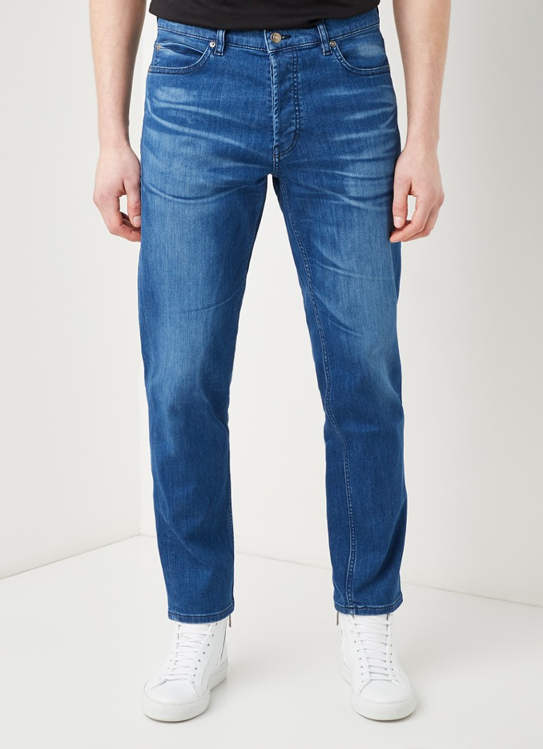 HUGO - HUGO 634 tapered fit jeans met stretch - Jeans