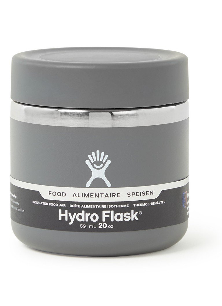 Hydro Flask - Food Jar thermoskan 591 ml  - Grijs