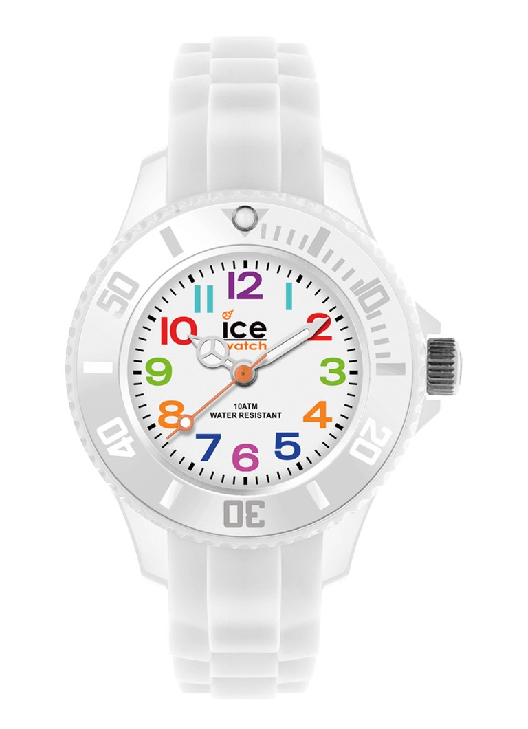 Ice-Watch - Horloge Ice Mini White Mini IW000744 - Wit
