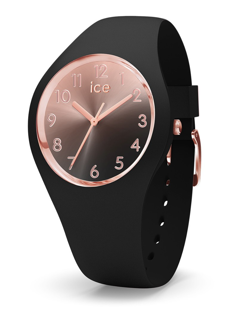 Ice-Watch - Sunset horloge small IW015746 - Zwart