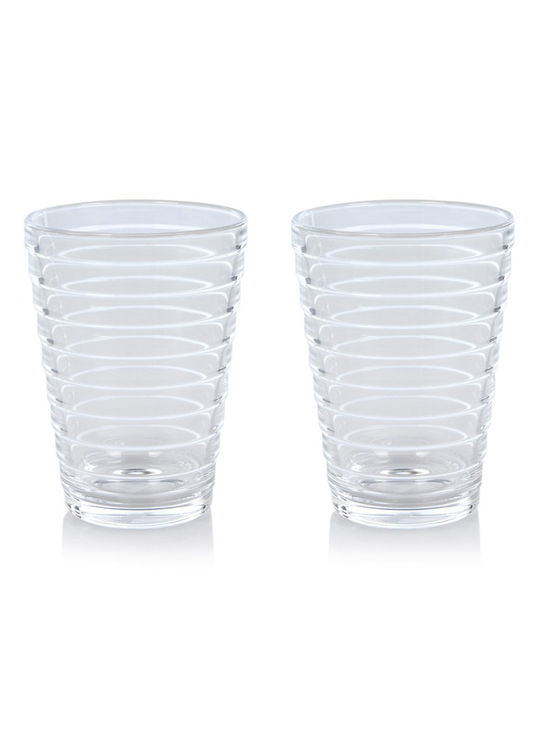 iittala - Drinkglas 33 cl set van 2 - Naturel
