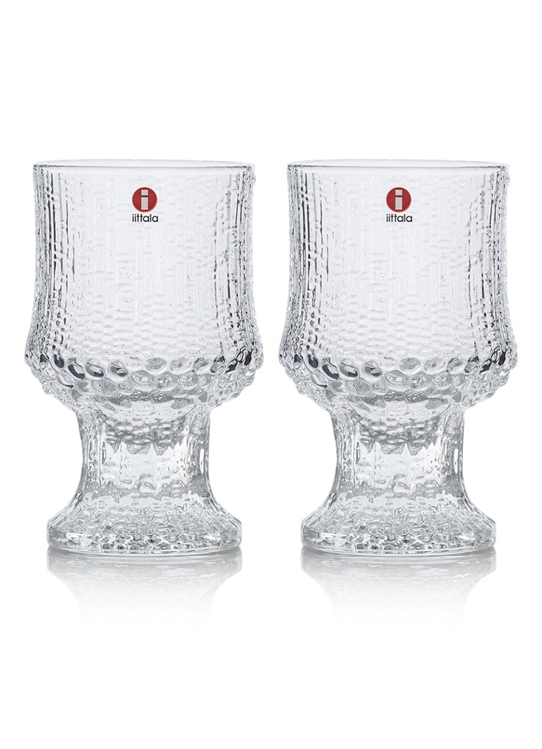 iittala - Rode wijnglas 23 cl set van 2 - Naturel