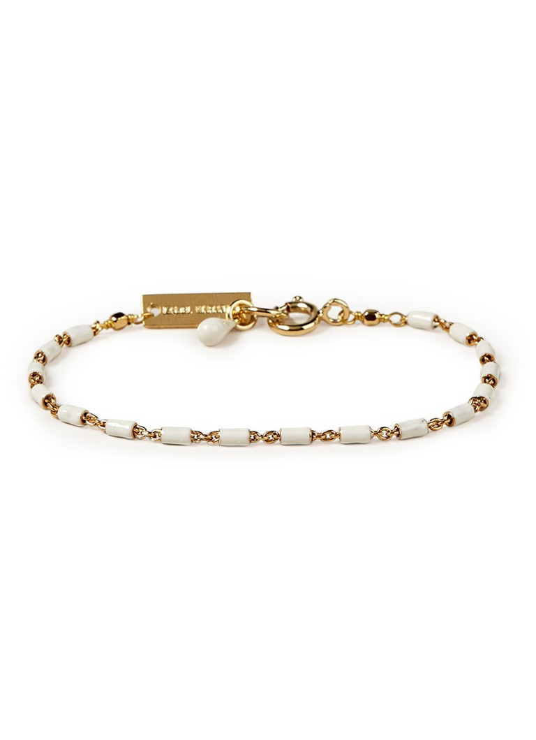Isabel Marant - Casablanca armband met witte details 18ABR0372-18A024B - Goud