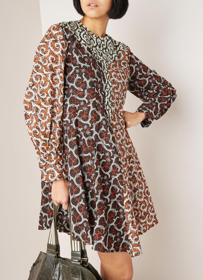 info voor loopschoenen stopcontact online Isabel Marant Étoile Lissande A-lijn jurk van katoen met ...