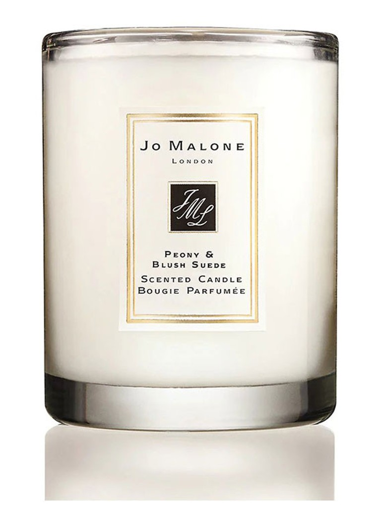 Jo Malone London - Peony & Blush Suede Travel Size - geurkaars - Wit