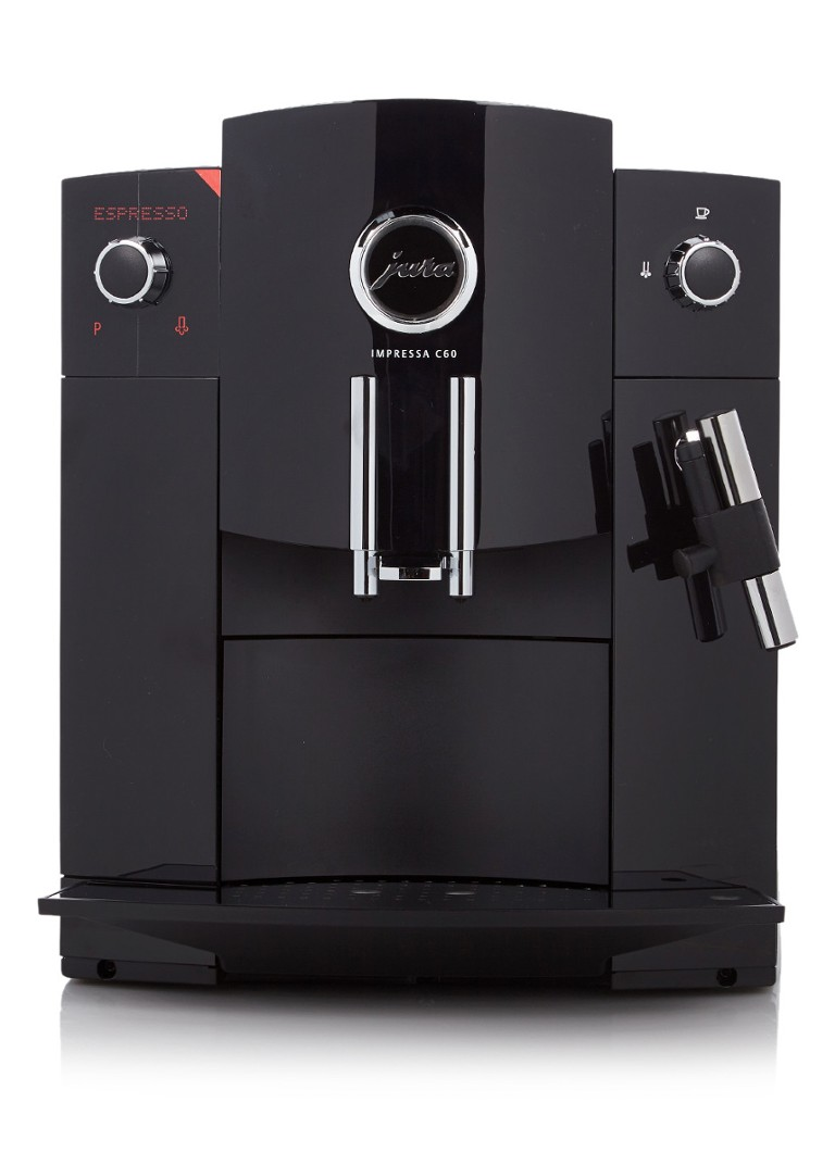 jura impressa c60 koffiemachine zwart de bijenkorf. Black Bedroom Furniture Sets. Home Design Ideas