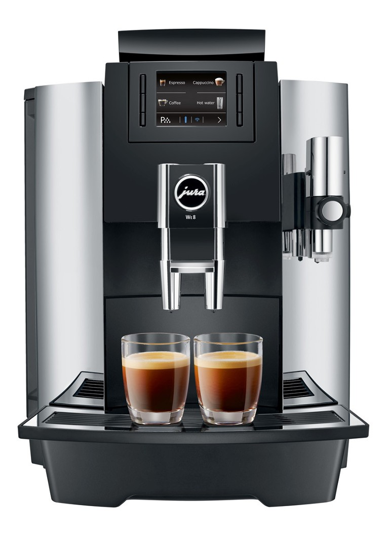 Jura - WE8 koffiemachine 15285 - Zilver
