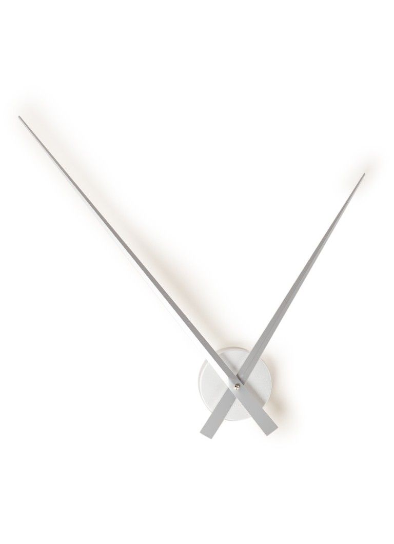 Karlsson - Little Big Time wandklok 90 cm - Zilver